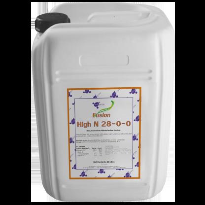 Indigrow Product Fusion NPK (Nitrogen, Phosphorus, Potassium) 28-0-0 10 Litres