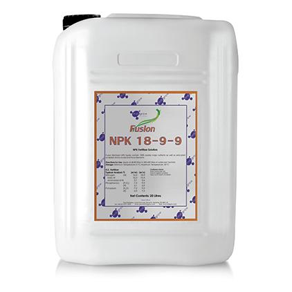 Indigrow Product Fusion NPK 18-9-9