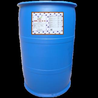 Indigrow Product Fusion NPK (Nitrogen, Phosphorus, Potassium) 18-9-9 Large Volume