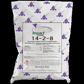 Indigrow Product Impact Organic 14-2-8