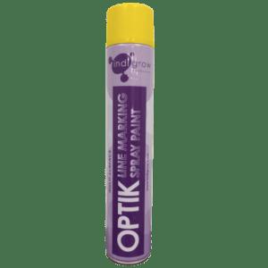Indigrow Product Optik Line Marking Aerosol Spray Paint - Yellow