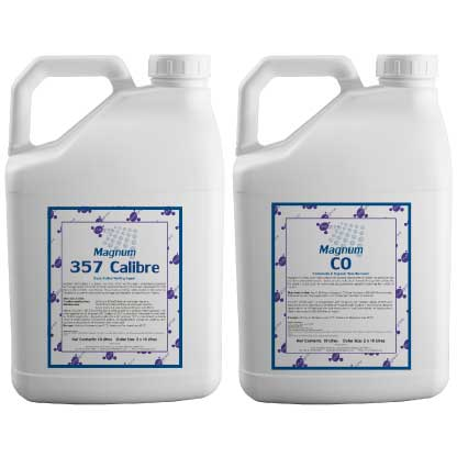 Magnum 357 Calibre & Magnum CO as tank mix wetting agents